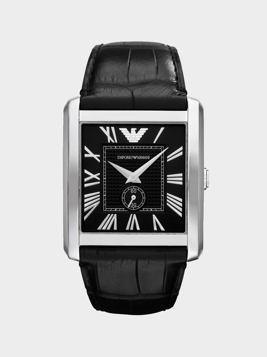 Emporio Armani Black Marco Watch