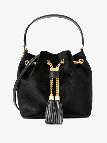 Women's Metal Tassel Messenger Bag