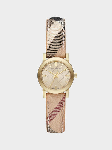 Burberry Haymarket Check Fabric Watch