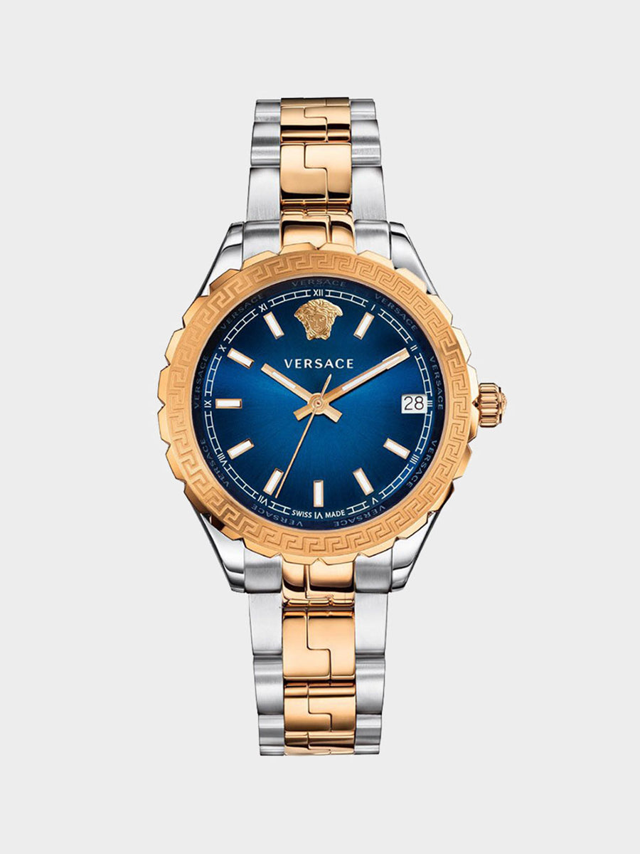Women's Embossed Calendar Watch