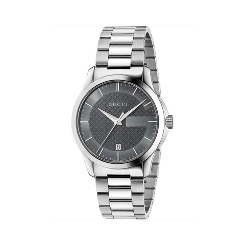 Gucci G-Timeless Blue Dial Stainless Steel Unisex Watch