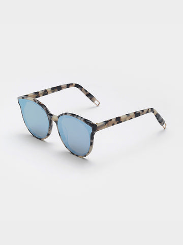 Gentle Monster Clear Blue Front Sunglasses