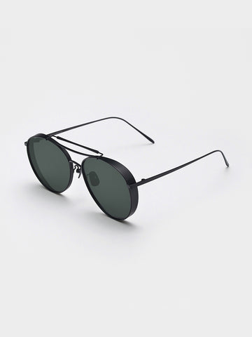 Gentle Monster Black Mirror Sunglasses