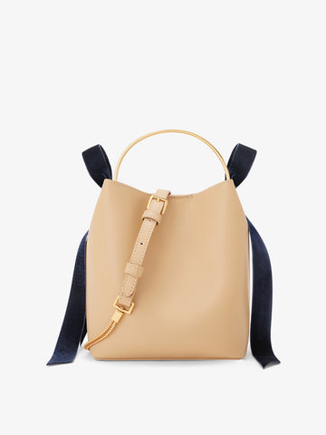 Women's Bow Handbag Beige