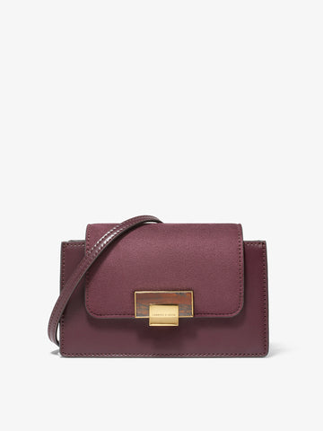 Women's Mini Crossbody Bag Dark Purple