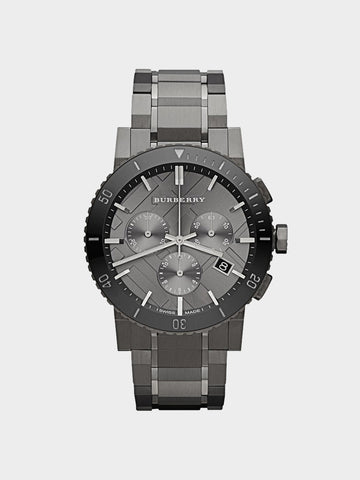 Burberry Black Dial Chronograph Watch