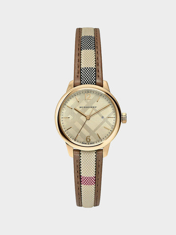 Burberry The Classic Round Multi-Color Watch