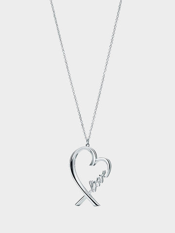 Women's 925 Silver LOVE Necklace