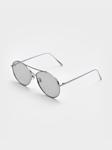 Gentle Monster Grey Mirror Sunglasses