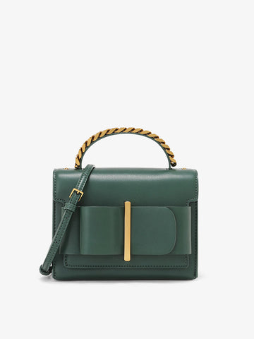 Women's Bow Decor Crossbody Bag Green