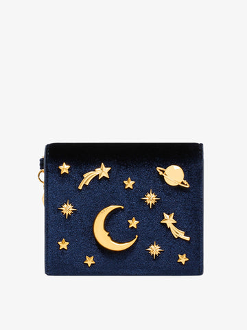 Women's Star Series Wallet Navy Blue