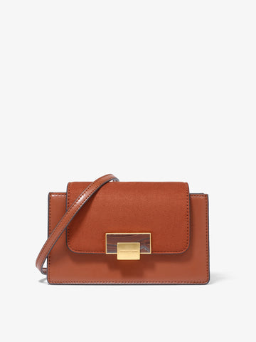 Women's Mini Crossbody Bag Brick Red