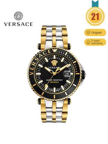 VERSACE Men's  Two-Tone Stainless Steel