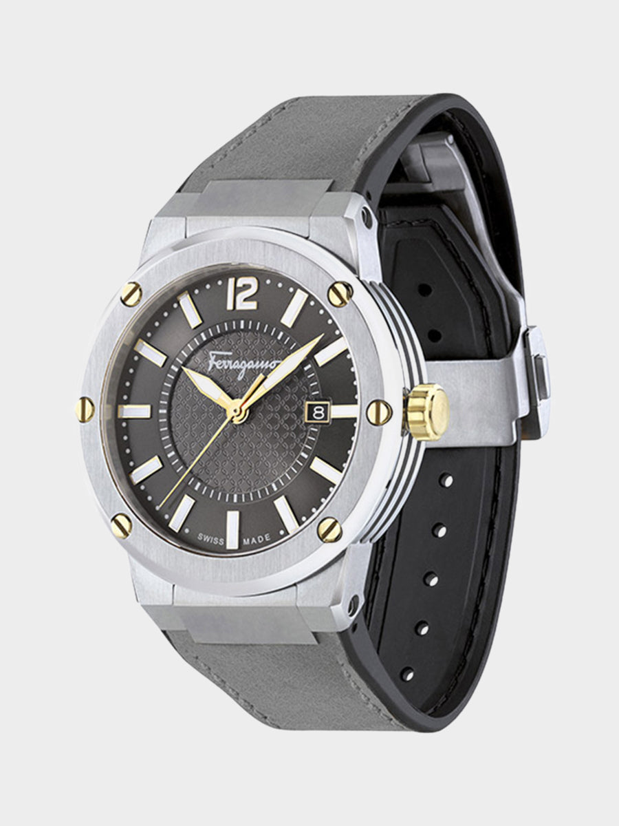 Men's Analog Watch, 44mm