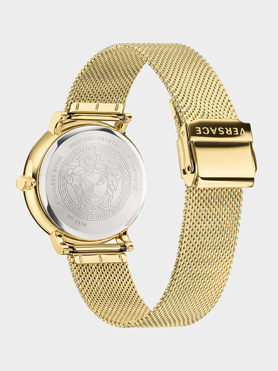 Men's Mesh Strap Watch