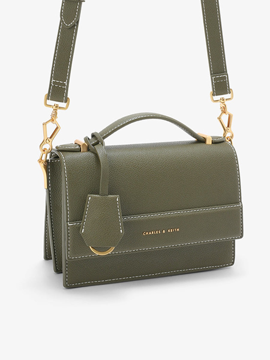 Women's  Messenger Bag Olive Green