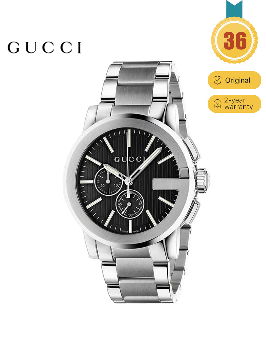 GUCCI Men's Quartz Simple G-Chrono Series Watch