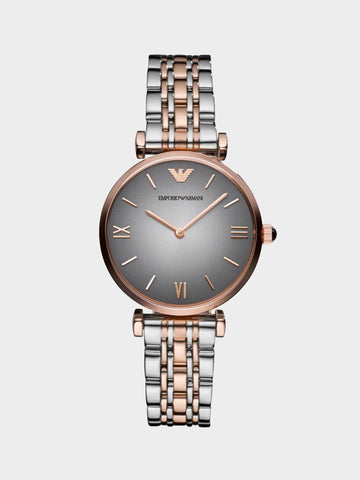 Emporio Armani Simple Disc Watch