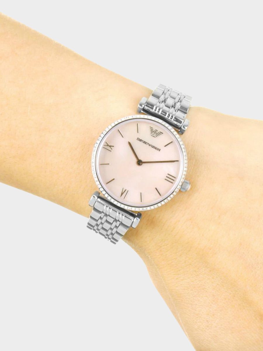 Emporio Armani Mother of Pearl Dial Watches