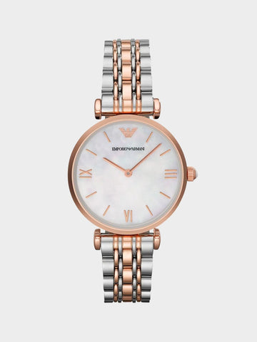 Emporio Mother Of Pearl Dial Ladies Watch