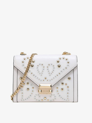 Women's Whitney Rivet Bag White