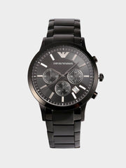 Emporio Armani Three Eye Timing Watch