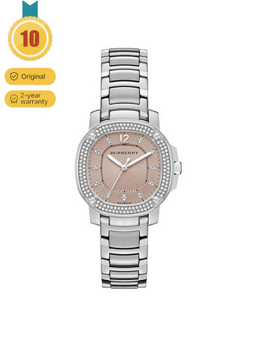 Women's Classic British Leisure Fashion Diamond Inlaid Watch