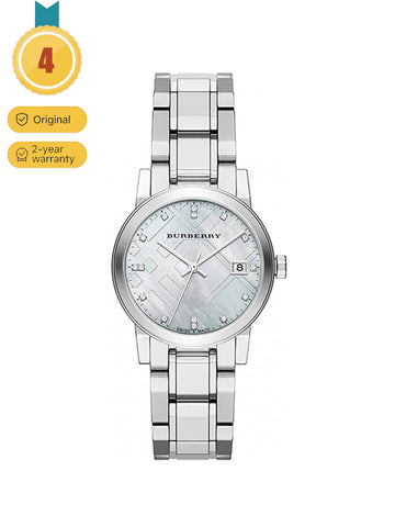 Burberry Diamond  Stainless Steel  Watch