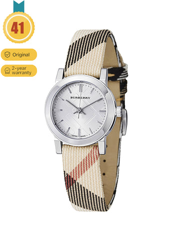 BURBERRY Women's  Large Check Nova Check Strap Watch