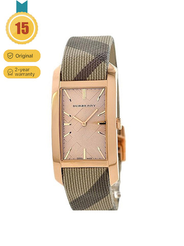 Burberry Rose Gold Dial Watch