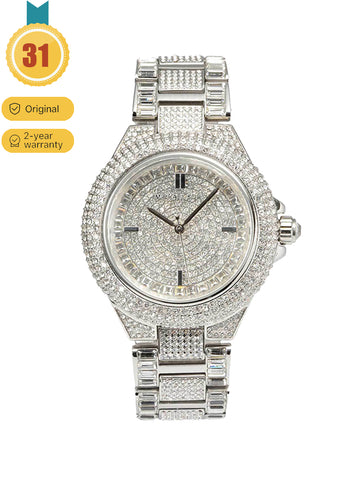 MICHAEL KORS Camile crystal pavé dial crystal inlaid ladies watch