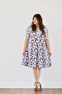 Stephanie Floral Dress (PLUS)