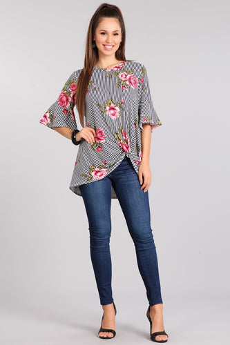 Faith Floral Blouse