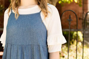 Denim Swing Dress