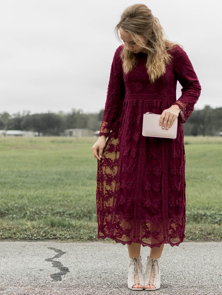 Rahab Lace Dress