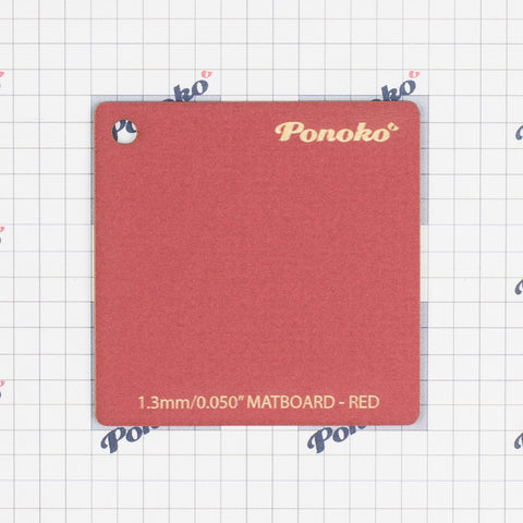 Matboard - Red