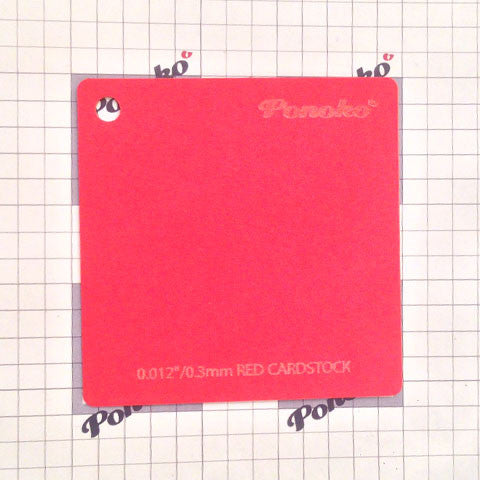 Cardstock - Red