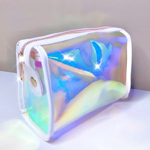 Holographic Dreams Cosmetic Case