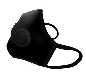 Vog Mask Dual Exhale Valve - Military Grade Activated Carbon Mask - Organic