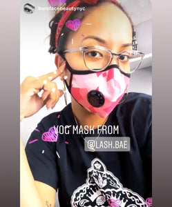 """Whoever Said Orange Was the New Pink Was Seriously Disturbed"" Vog Mask - Military Grade, Activated Carbon Mask"