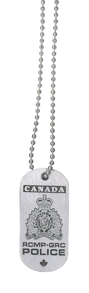 RCMP Dog Tags