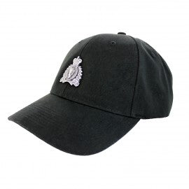 Black Pewter Crest Cap