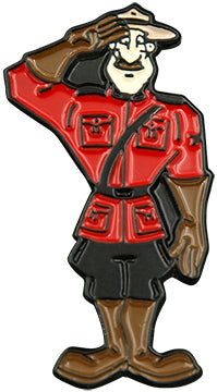 Mountie Salute Pin