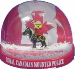 Bear Rider Snowglobe - Small
