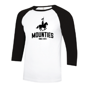 Mounties Mens Baseball Tee