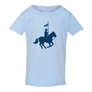 Mountie Silhouette Toddler Tee