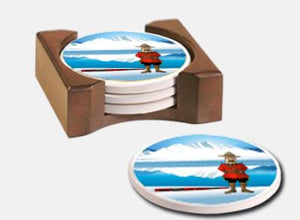 RCMP Coasters - Set of 4