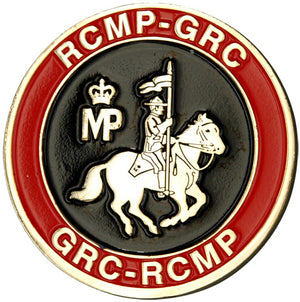 RCMP Gold Challenge Coin