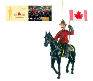 RCMP Horse & Rider Ornament