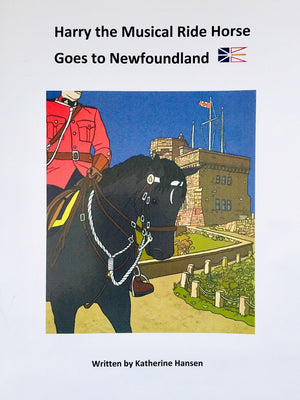 Harry the Musical Ride Horse Goes to Newfoundland